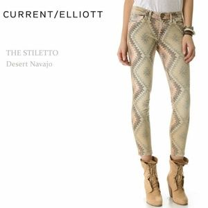 Current Elliott The Stiletto Jeans Size 27